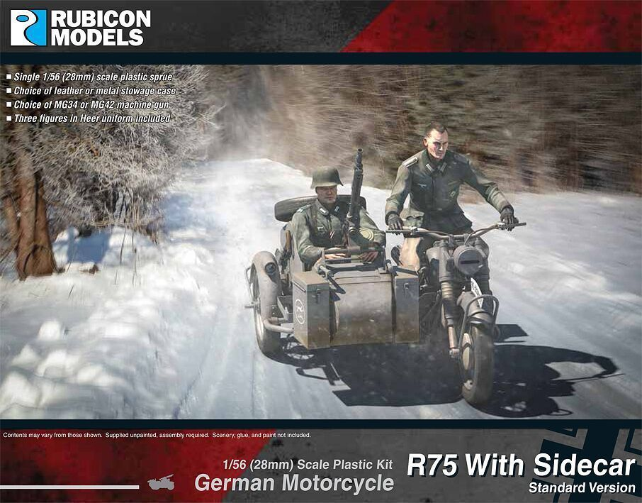 Bild 1 von German Motorcycle R75 with Sidecar - ETO