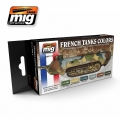 WW I & WW II FRENCH CAMOUFLAGE COLORS