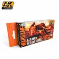 German Red Primer Set (Wargame Series)
